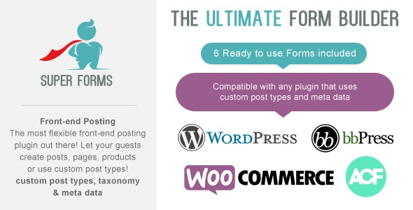 Super Forms - Front-end Posting Add-on - CodeCanyon Item for Sale