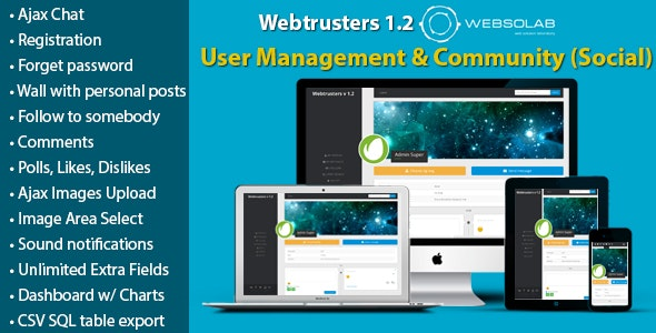 Codeigniter User Management & Community/Social With Chat (Ajax) - CodeCanyon Item for Sale