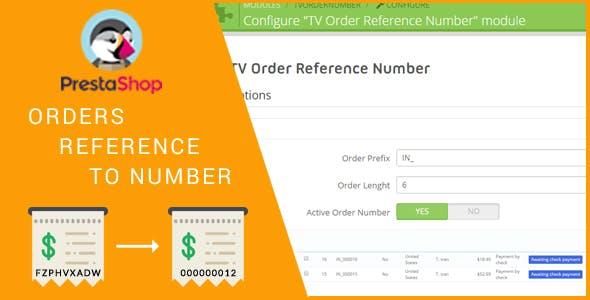 Order Preference Number Module Prestashop