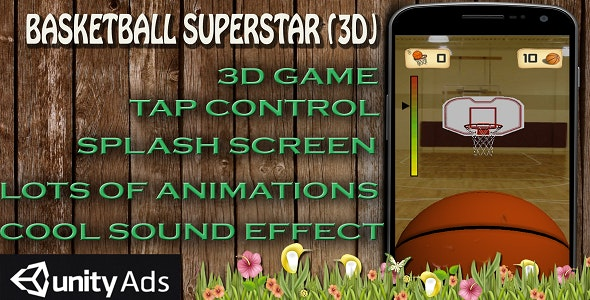 Basketball 3D  - CodeCanyon Item for Sale