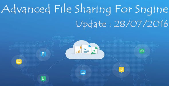 Advanced File Sharing For Sngine