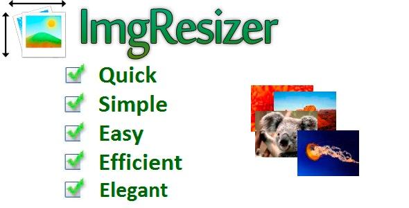 ImgResizer - CodeCanyon Item for Sale
