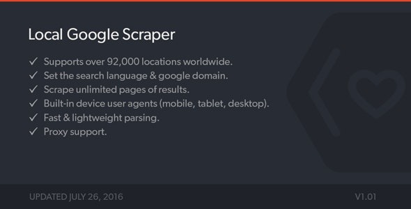 Local Google Results Scraper - PHP Class - CodeCanyon Item for Sale