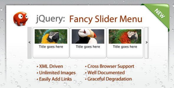 Fancy Slider Menu