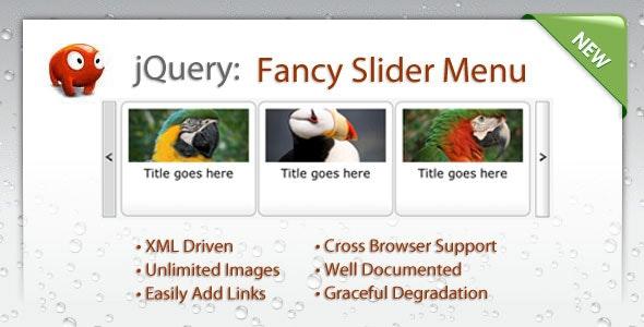 Fancy Slider Menu - CodeCanyon Item for Sale