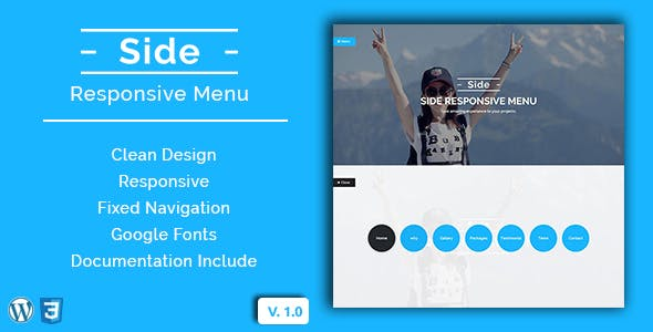 Side - Wordpress Responsive Menu