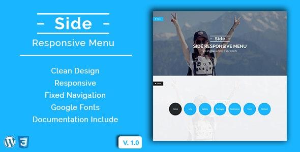 Side - Wordpress Responsive Menu - CodeCanyon Item for Sale
