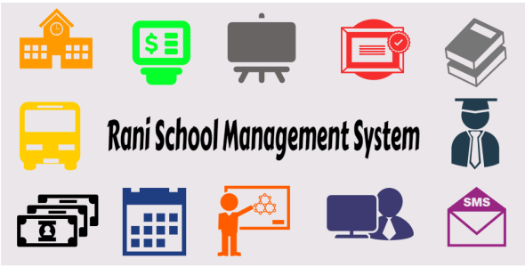 Rani School Management System - CodeCanyon Item for Sale