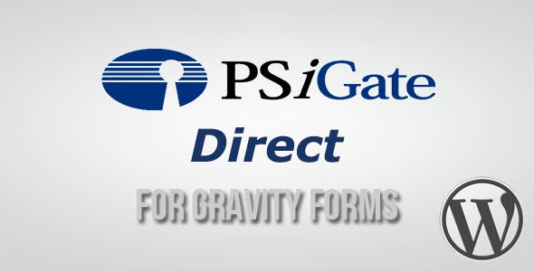 PSiGate Direct Payment Gateway for Gravity Forms