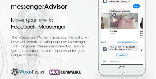 Messenger Advisor - Messenger Chat Bot for Wordpress - CodeCanyon Item for Sale