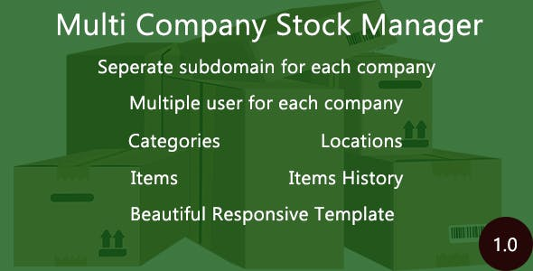 Multi Company Stock Manager
