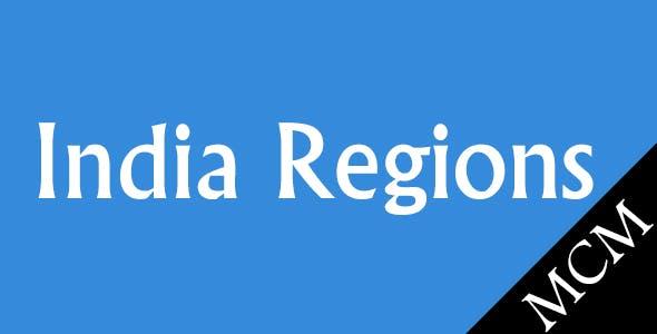 Magento Indian Regions