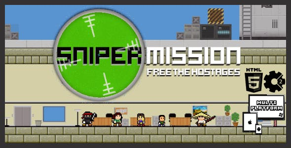 Sniper Mission - HTML5 Shooter Game
