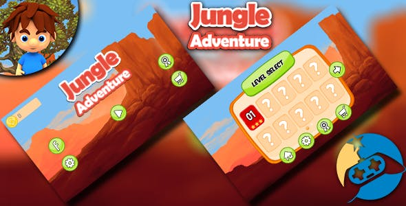 Jungle Adventures - AdMob ads + IAP + Splash Screen and more!
