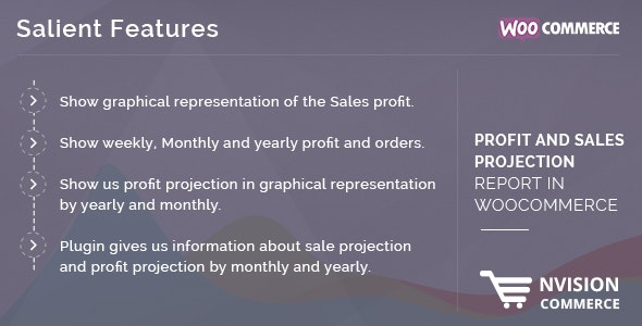Profit and Sales Projection Report in WooCommerce - CodeCanyon Item for Sale