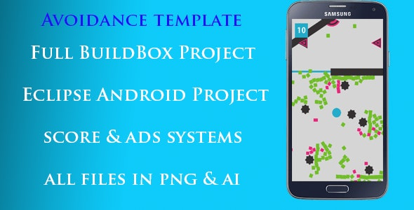 Avoidance Game - Buildbox Template + Eclipse Project - CodeCanyon Item for Sale