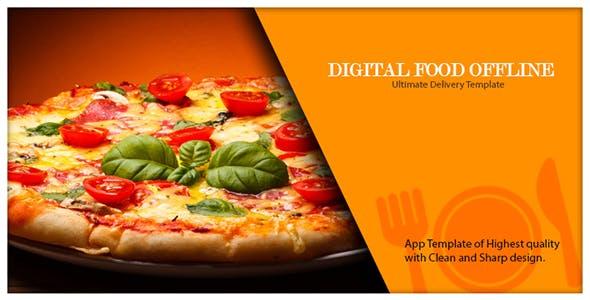 Digital Food Offline Tablet App, Only For Tablet