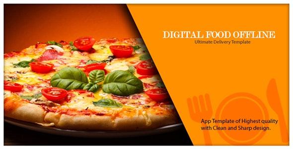 Digital Food Offline Tablet App, Only For Tablet  - CodeCanyon Item for Sale
