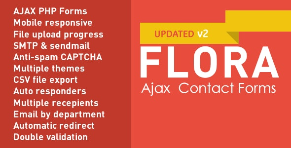 Flora Forms -  Responsive Ajax Contact Forms - CodeCanyon Item for Sale