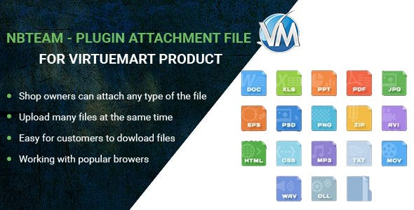 NBTeam – Plugin Attachment file for Virtuemart Product