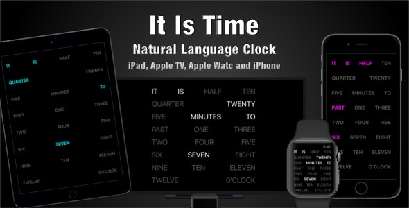 It Is Time - CodeCanyon Item for Sale