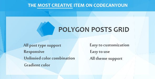 Polygon Posts Grid For Visual Composer - CodeCanyon Item for Sale