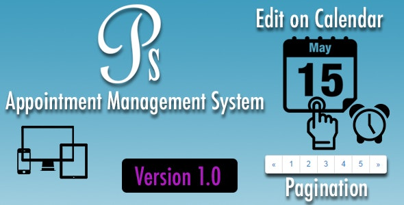 Appointment Management System - Version 1.5 - CodeCanyon Item for Sale