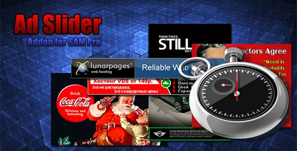 Ad Slider for SAM Pro - CodeCanyon Item for Sale