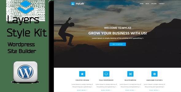 myLab - Layers WordPress Style Kit