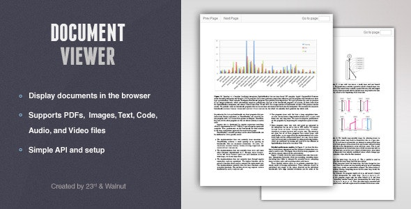 jQuery Document Viewer - CodeCanyon Item for Sale