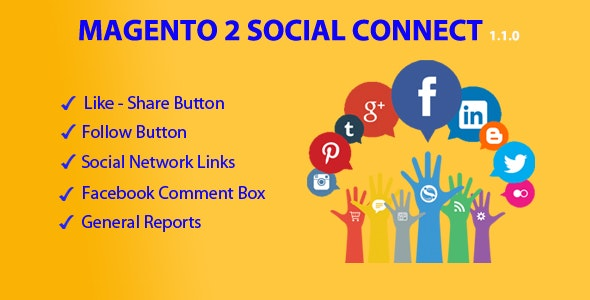 Magento 2 Social Connect - CodeCanyon Item for Sale