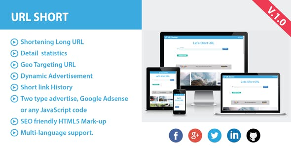 Short URL with Ads - CodeCanyon Item for Sale