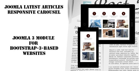 Joomla Latest Articles Responsive Carousel - CodeCanyon Item for Sale