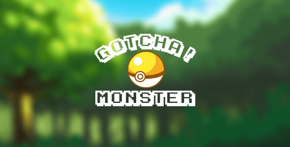 Gotcha! Monster - CodeCanyon Item for Sale