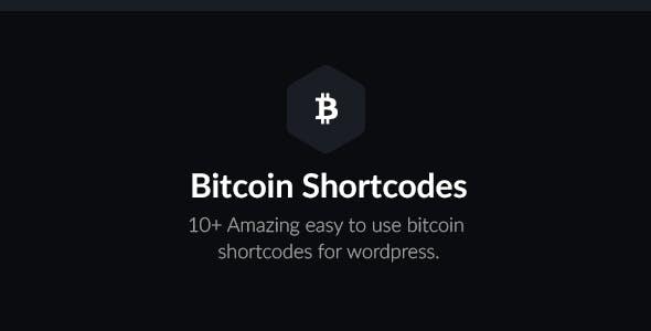 Bitcoin Shortcodes