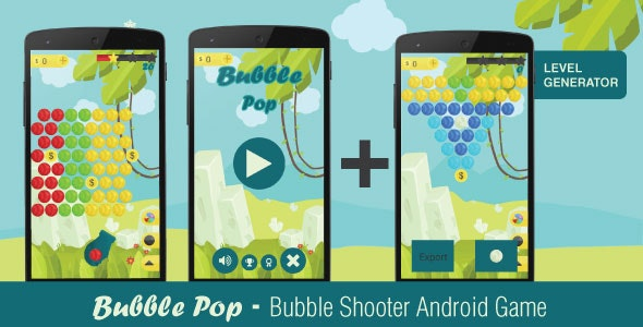 Bubble Pop - A Bubble Shooter Game - CodeCanyon Item for Sale
