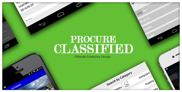 Procure Classified Android Application - CodeCanyon Item for Sale