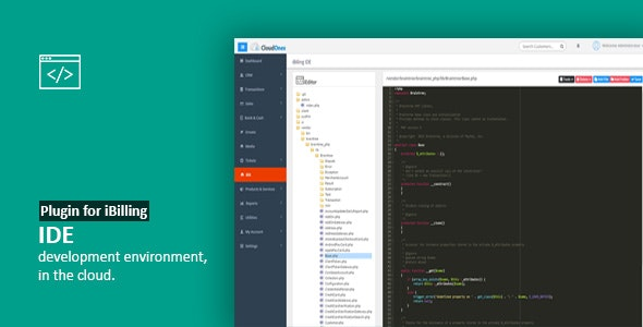 IDE - Plugin for iBilling - CodeCanyon Item for Sale