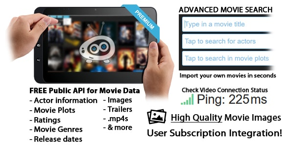HTML/CSS/PHP/JS Ultimate Movie Scraper Site - CodeCanyon Item for Sale