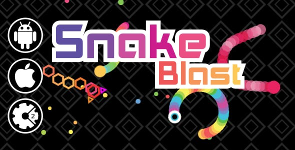 Snake Blast - HTML5 Mobile & Desktop Game