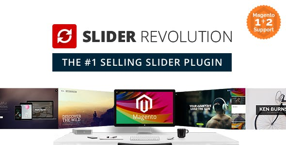 Slider Revolution Responsive Magento Extension        Nulled