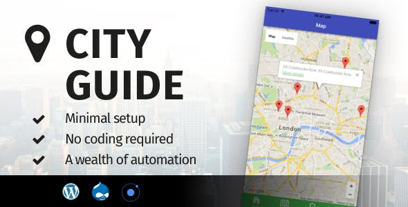 City Guide Ionic 4 - Full Application with Firebase backend