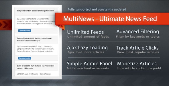 MultiNews - Ultimate All-In-One News App - CodeCanyon Item for Sale