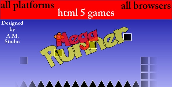Mega Runner - CodeCanyon Item for Sale