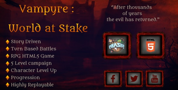 Vampyre: World at stake - CodeCanyon Item for Sale