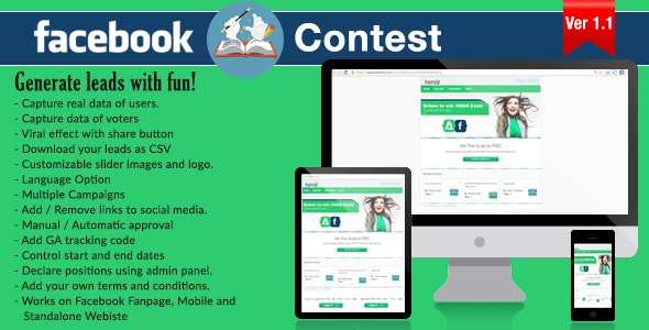 Facebook Story Contest - CodeCanyon Item for Sale