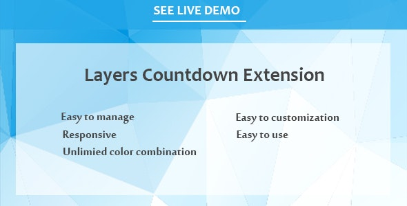 Layers Countdown Extension - CodeCanyon Item for Sale