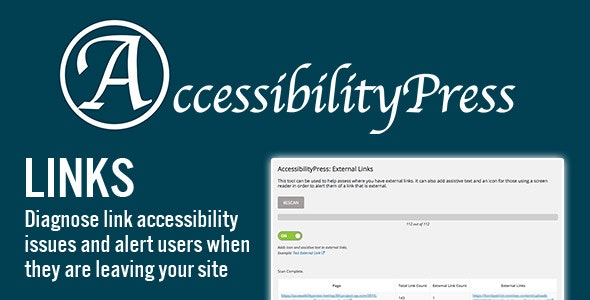 AccessibilityPress: External Links - CodeCanyon Item for Sale