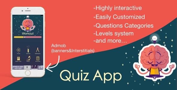 Interactive Quiz app - CodeCanyon Item for Sale
