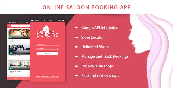 Online Beauty Salon or Spa Booking Solution - Book My Salon App